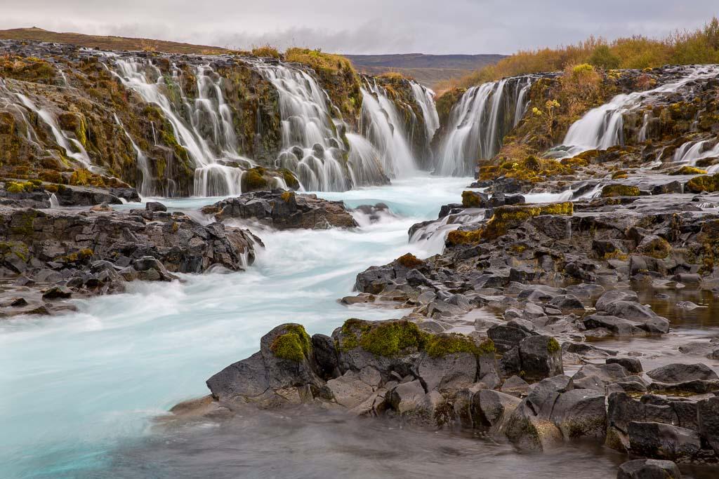 Bruarfoss, vattenfall på Island