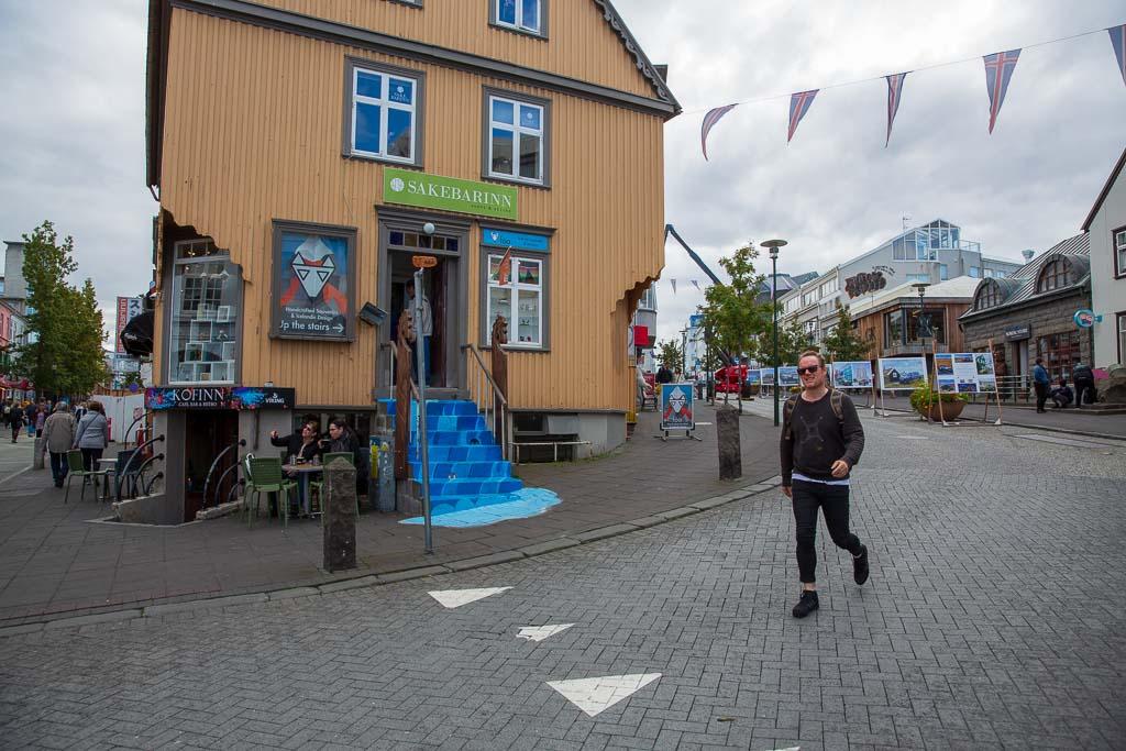 Butiker i Reykjaviks centrum