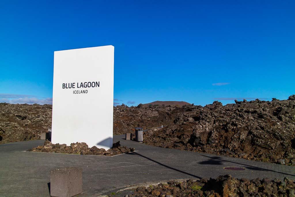 Entré til Blå lagunen