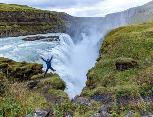 Vattenfall på Island
