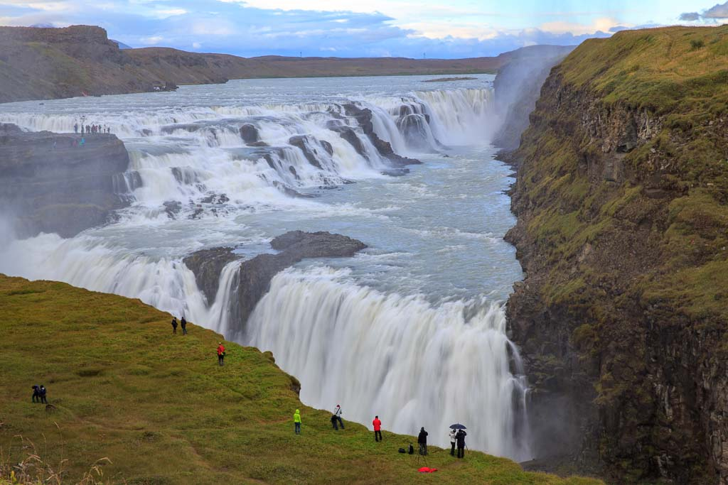 Gullfoss, Islands mest kända vattenfall
