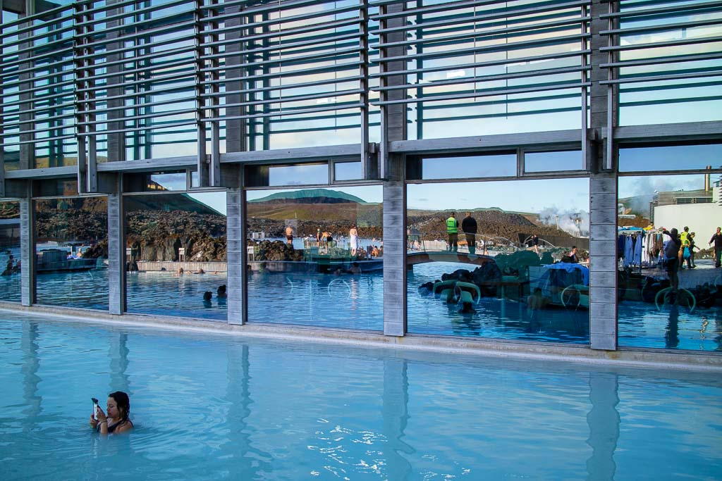 Spa, restaurang och konferens vid Blå Lagunen
