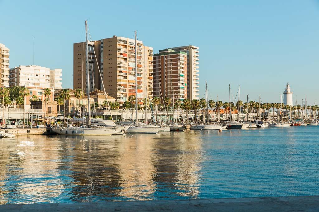 Strandpromenaden, Muelle Uno, Malaga