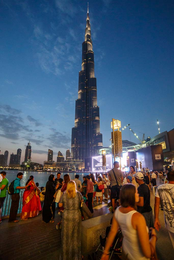 Bild på världens högsta byggnad
