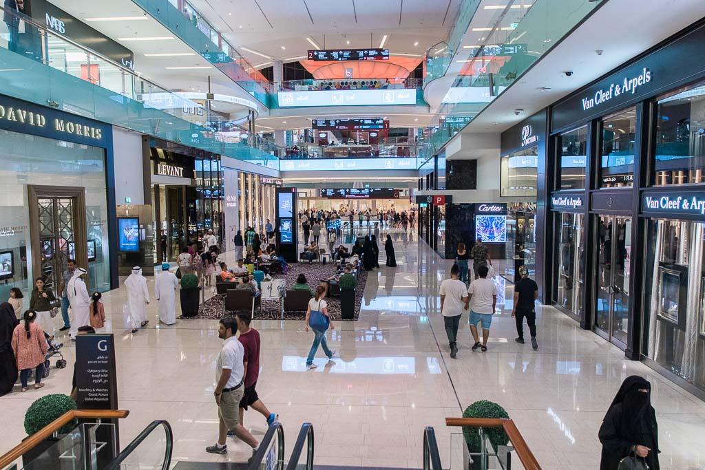 Shopping i Dubai Mall