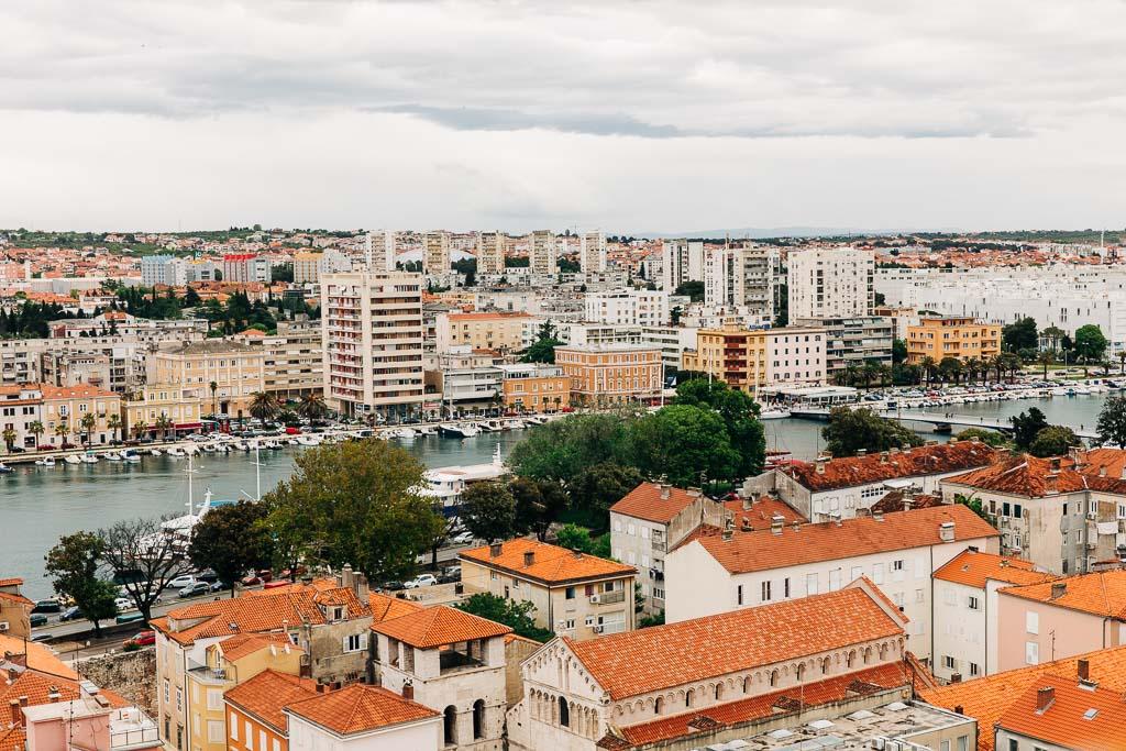 Utsikt över Zadar