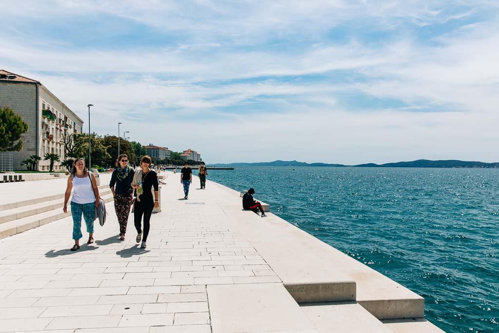 Havsorgeln i Zadar