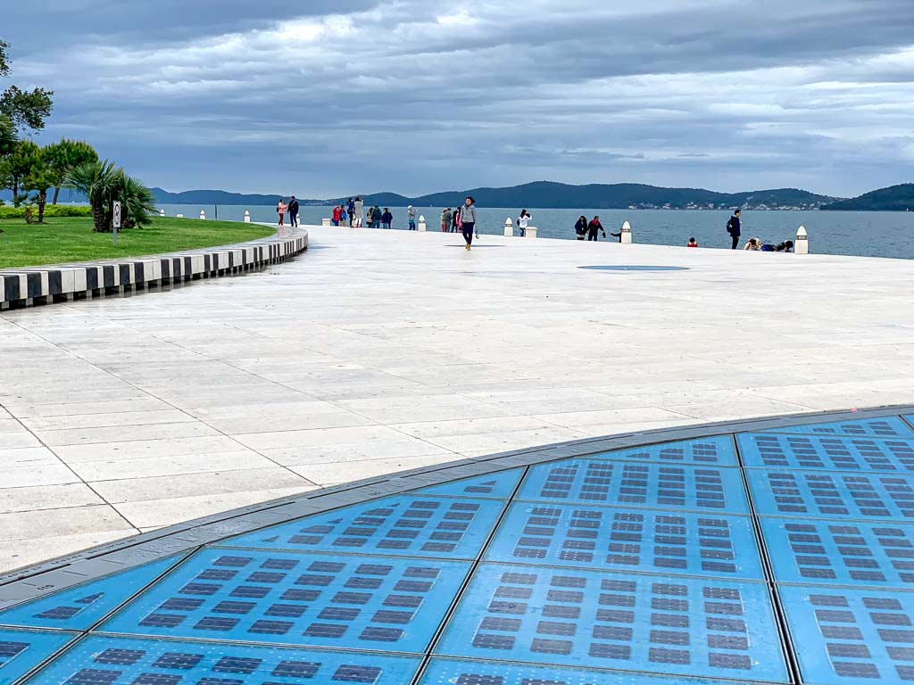 Monument to the Sun, Zadar